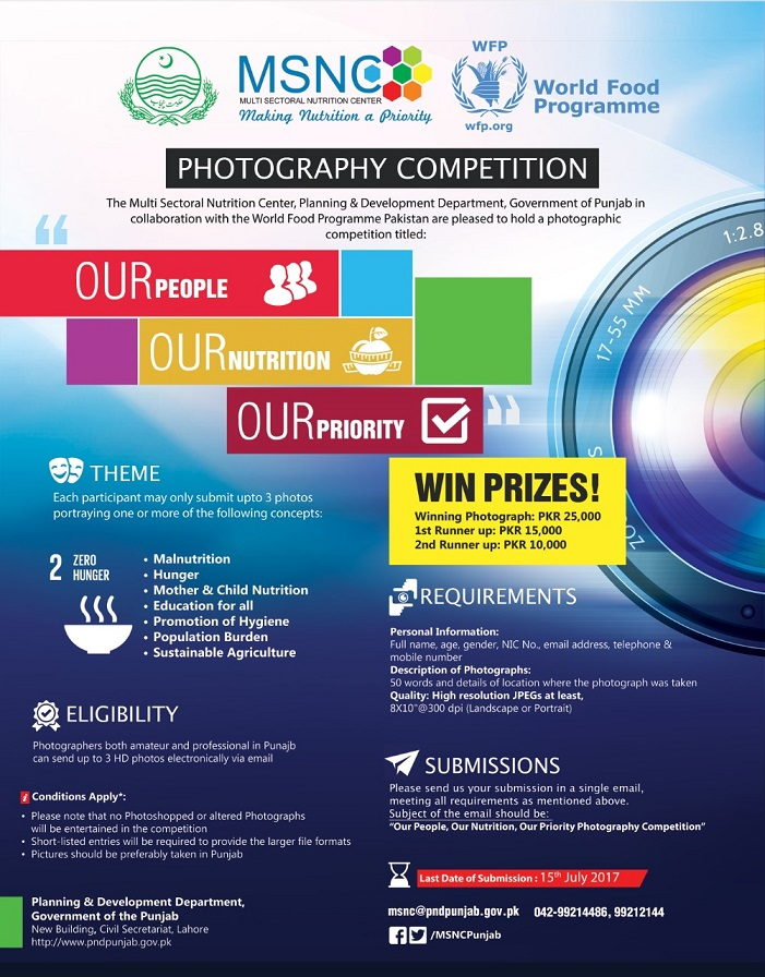 Pictures of photography competition