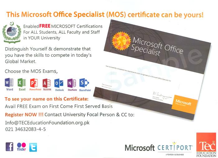 University Of The Punjab News Updates Microsoft Office