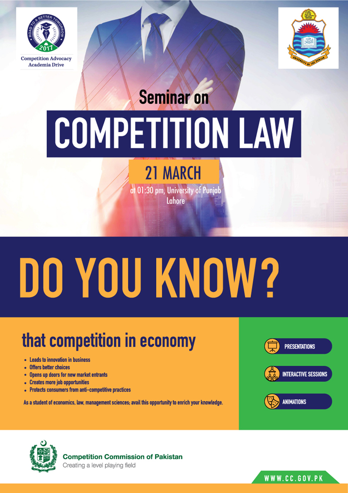 One day seminar on Economics and Competition Law