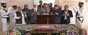 PU delegation visits Iqbal mausoleum