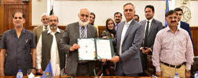 PU, NDU join hands to serve country, nation