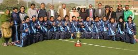 PU win HEC Inter-University Women's Hockey Championship