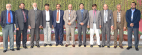 HEC team visits PU
