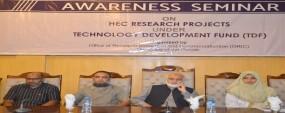 PU ORIC organizes seminar on HEC Research Proposals