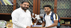 PU student honored