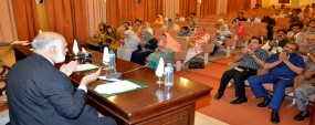 PU VC urges teachers to meet national needs - PU heads condemn terrorist attacks, express solidarity with victims