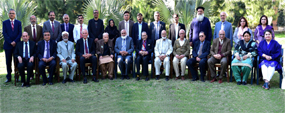 PU arranges luncheon for PU's former VCs