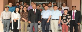 Chinese delegation visits PU