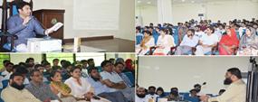 PU Library organizes seminar