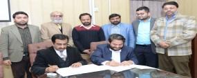 PU HCBF signed MoU with Al-Khidmat Foundation