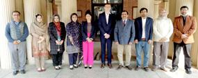 UK varsity delegates visit PU HCBF