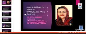 Talk on mental health issues