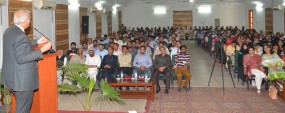 PU promoting literature in country: VC